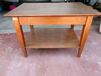 Small wood side table -21x30 & 20in tall Santa Paula, 93060