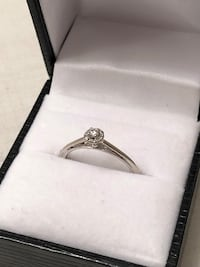 White gold engagement ring  Edmonton, T6R 0R6