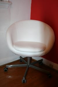 Modern White Chair- Living room, Office, Computer  Toronto