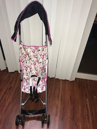 Pink Mini Mouse Umbrella Stroller with Canopy (almost new condition) Los Angeles, 91367