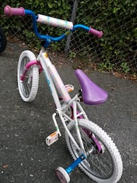 white and purple BMX bike North Andover, 01845