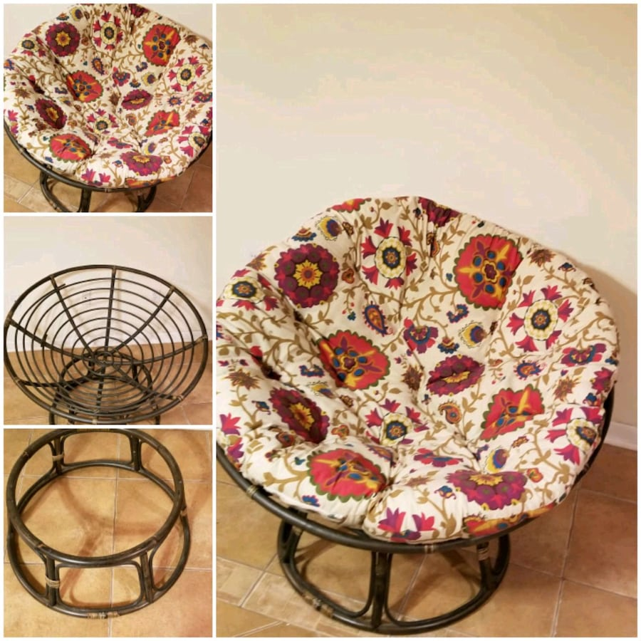 Papasan chair from Pier one