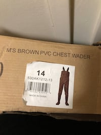 Chest waders for fishing Vancouver, V6G 1X6