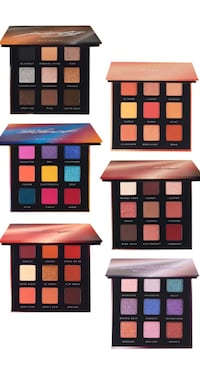 Huda Beauty Obsession Eyeshadow Palettes Dupe 6 palettes combo San Francisco, 94107