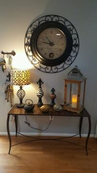 wrought-iron basket weave top, console entry table  originally $259 Richmond, 23233