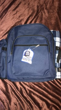 blue and black The North Face backpack West Warwick, 02893