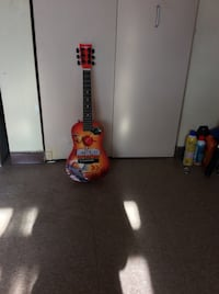 Disney Planes fire and rescue childs guitar