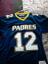 Tom Brady Padres High School Jersey Stitched XL New Bedford, 02740