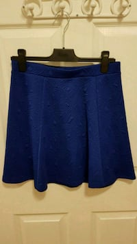 Cobalt blue skirt 560 km