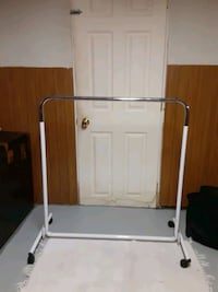 2 Clothes Racks about 3.5ft tall about 4ft wide. Hammond, 46320