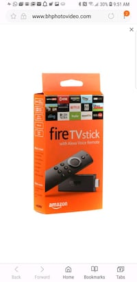 black Amazon Fire TV Stick box screenshot Sterling, 20164