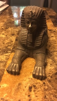 Egyptian candle holder.