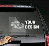 Business high quality vinyl decal  Burnaby