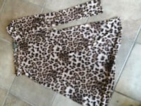black and white leopard print pants Pasadena, 77506
