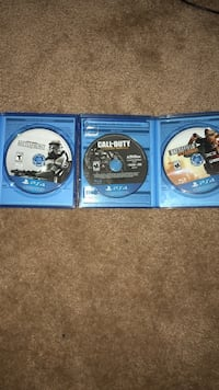 Three sony ps4 game discs Harker Heights, 76548