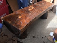 Customize log bench/ cedar wood Toronto, M1E 1L8