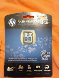 8 GB HP flash memory card Tempe, 85281