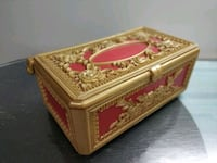 Vintage Jewellery Box with 3 partitions. 580/- Mumbai
