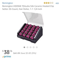 Ceramic Hair Curlers Remington Riverside, 92507