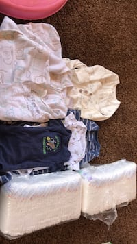 newborn clothes for bou n diapers  Pearl City, 96782