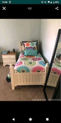 Thomasville twin bed frame includes mattress and  McLean, 22102