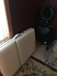 Small massage table and chair