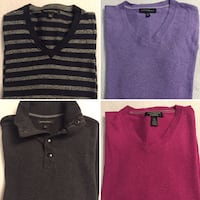 LIKE NEW Banana-Republic Men's S/M Sweaters - $25 each or 2/$40 Toronto