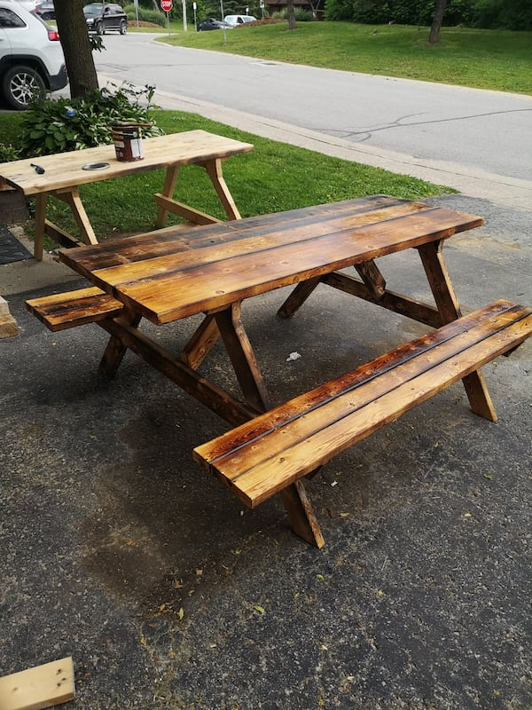 Picnic tables 7