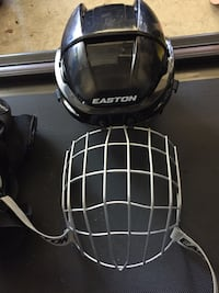 Large Easton Hockey Helmet w/ cage Vancouver, V6P