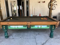 Brown and green billiard table Orlando, 32833
