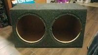 Dual Sealed (12)Subwoofer Box Fullerton, 92833