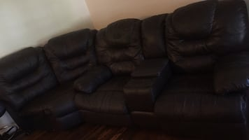 Recliner .. two parts