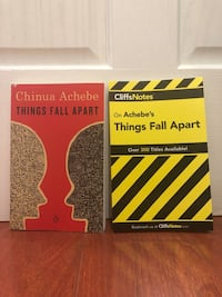 Things Fall Apart, Book and Cliff Notes Chicago, 60612