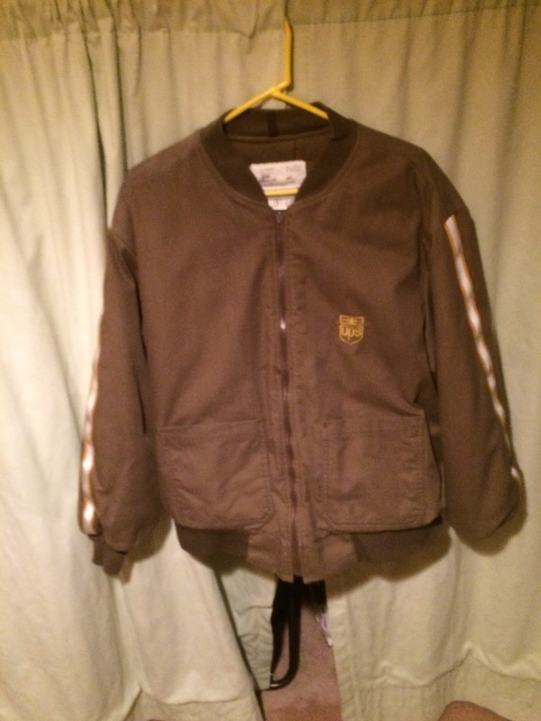 UPS uniform bomber jacket--old logo