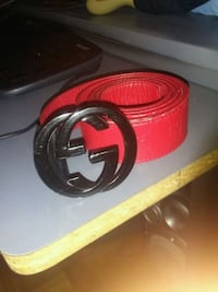 Gucci belt (red and black) Toronto, M3M 1R8