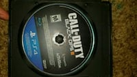Call of Duty Black Ops 3 PS4 game disc Redding, 96001