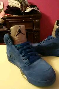 pair of blue Air Jordan basketball shoes Pharr, 78577