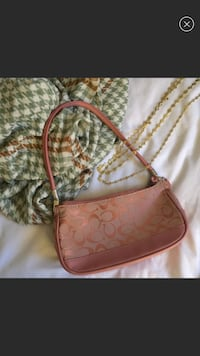Pink Coach Shoulder Bag Arlington, 22203