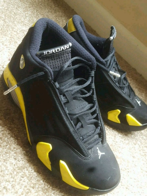 the latest 27bbf c5d4a Jordan 14 Retro Thunder Size: 10
