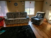 Recliner chair and three seats Vancouver, V6T 1L5