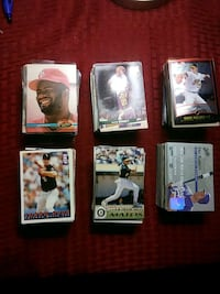 Baseball collector cards  and about 35 basketballe Tucson, 85712