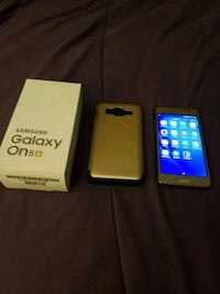 black Samsung Galaxy J7 Prime with box 543 km