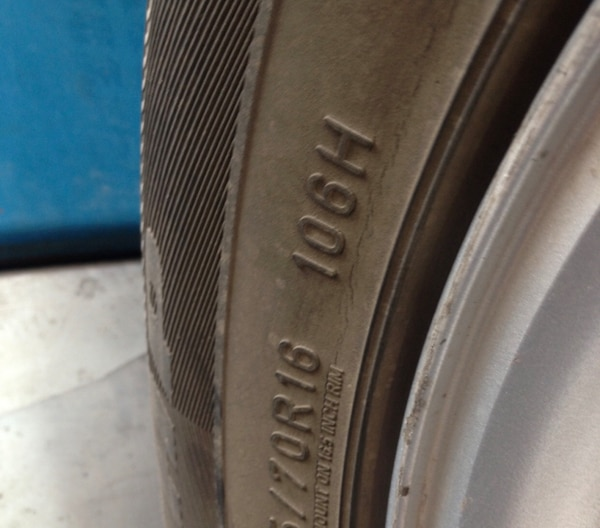 3 Firestone tires in great condition for Ford Escape (reduced) 224dc56a-3f20-4a11-9b97-fdd6c178498c