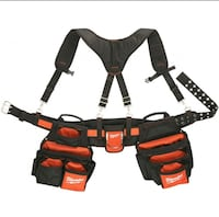Milwaukee Electrcians Tool Belt with Suspension Rig