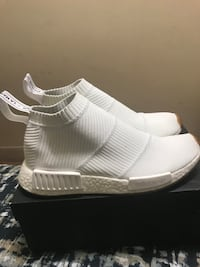 Adidas nmd cs1 white gum size 8 new