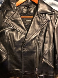 Express Women's Leather Jacket size small Laredo