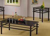 Brand New  Occasional Table Sets Modern Coffee Table and End Table CHICAGO
