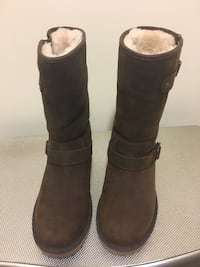 Genuine UGG boots.  Worn once.  Purchased at Saks Fith Avenue.  Size 8 women's  Greenbelt, 20770