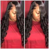 women's red and black hair collage 2274 mi