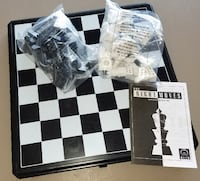 Folding Chess Set by Discovery The Right Moves, Self-Teaching, Sealed Zephyrhills